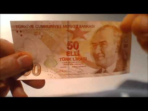 Fifty turkish lira note - Design and secutity features