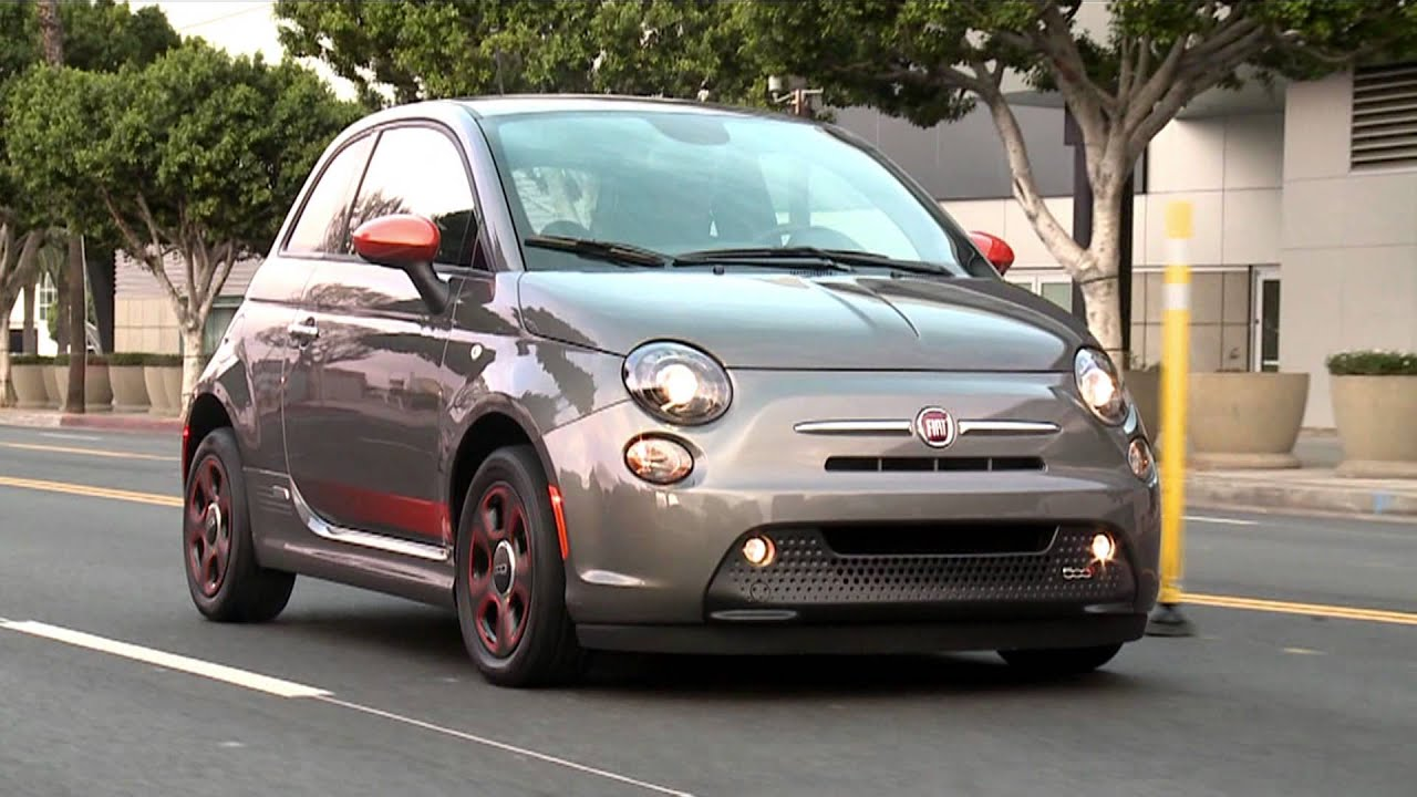 First Drive 2017 Fiat 500 Electric