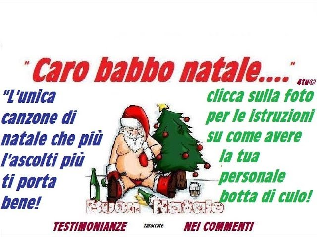 Babbo Natale Canzone.Caro Babbo Natale 4tu L Unica Canzone Di Natale Che Piu La
