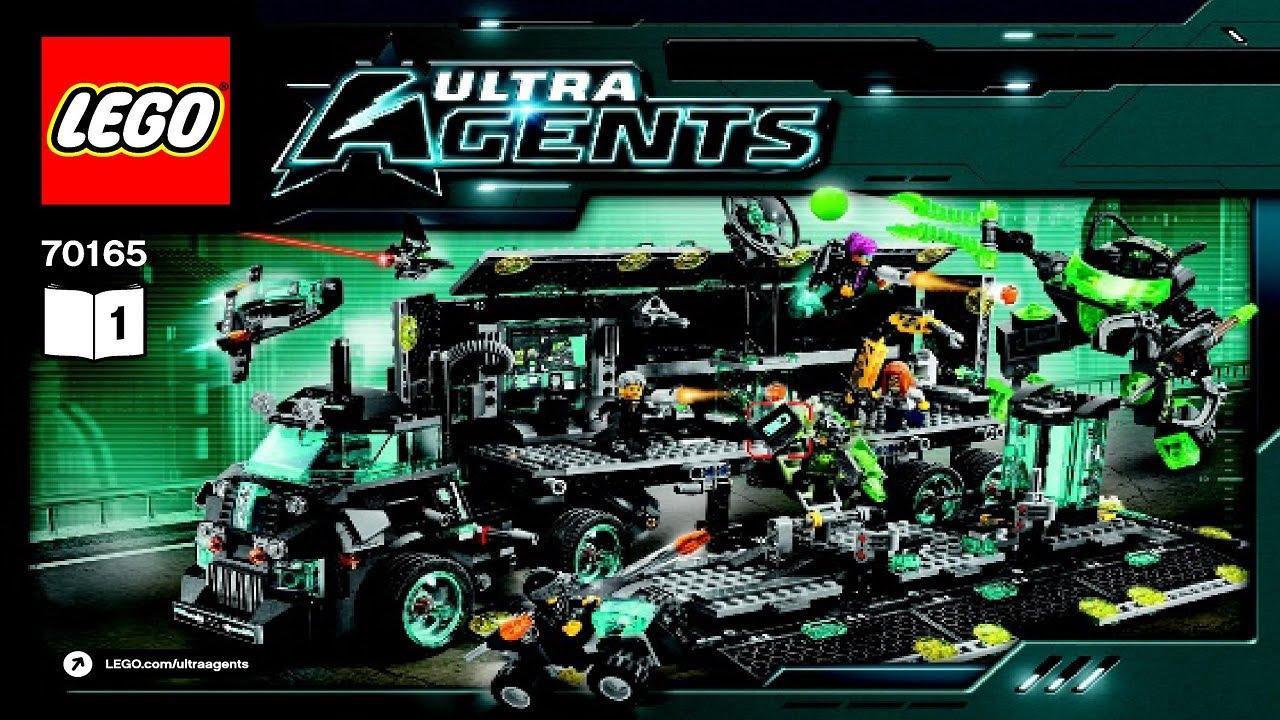70165 LEGO Agents Ultra Agents Mission HQ (instruction ... | 1280 x 720 jpeg 241kB