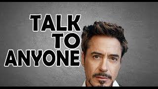 HOW TO TALK TO ANYONE | LIKE IRON MAN