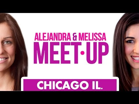 Melissa & Alejandra March Meet-Up in Chicago! (Clean My Space)