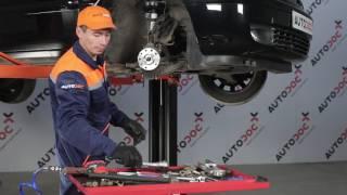 Hvordan bytte Fremre hjullager på OPEL ZAFIRA A [Bruksanvisning]