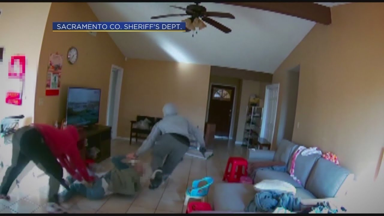 Victim Dragged Through Living Room In Home Invasion in Sacramento