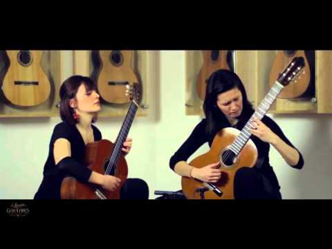 Duo Françaix - Isabella Selder and Eliška Lenhartová playing Blau Mar by Feliu Gasull i Altisent