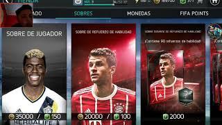 El mismo jugador 2 veces /fifa mobile