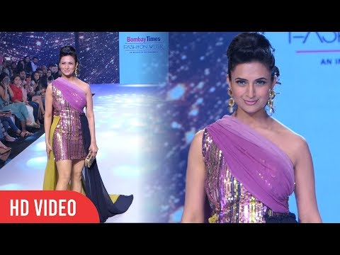 Yeh Hai Mohabbatein Fame Divyanka Tripathi Walks At Bombay Times Fashion Week 2019 | Day 03