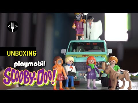 Unboxing: Playmobil Scooby Doo