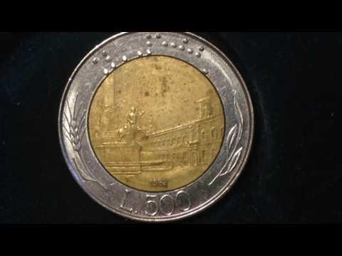 500 Lire - Italy- 1983 Coin