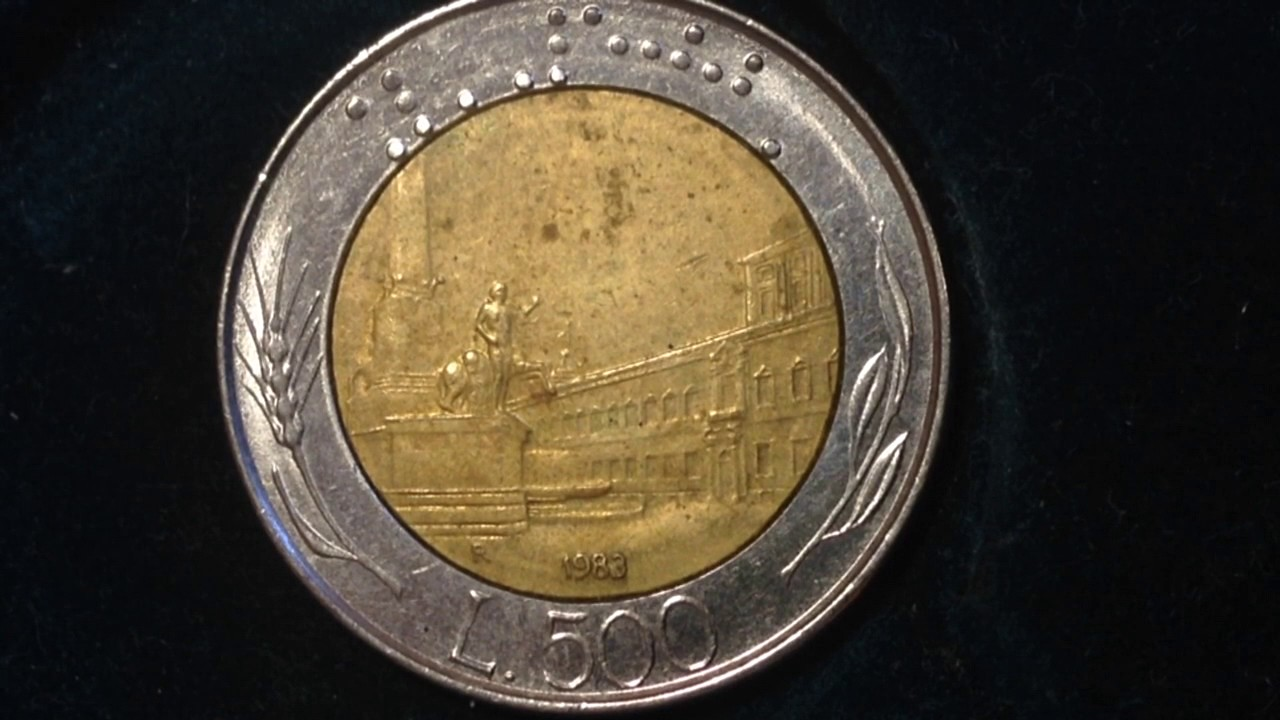 500 Lire Italy 1983 Coin