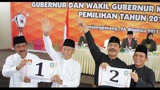 Debat Pilgub Kepri ricuh, hotel pacific batam 24 november 2015