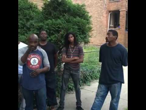 Black Men In Chicago Are Taking Over Abandoned Property & Rebuilding The Neighborhood With The Youth