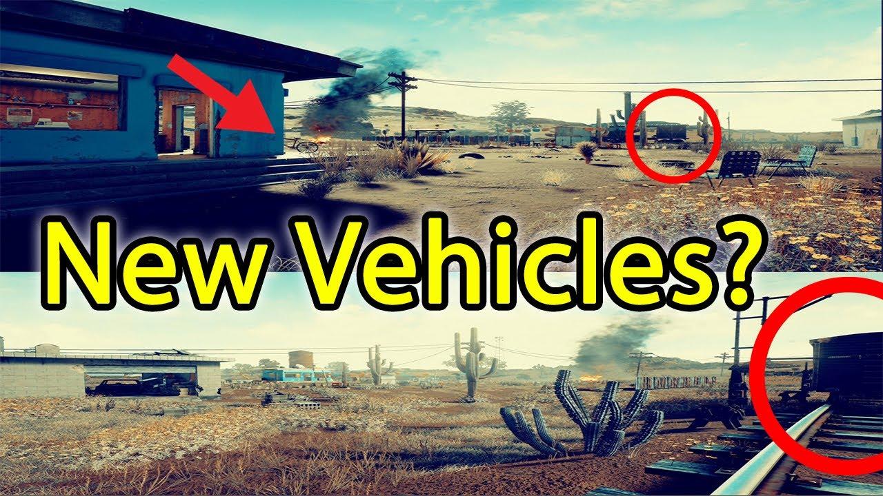 Playerunknown S Battlegrounds Desert Map: Playerunknown's Battlegrounds Desert Map Update