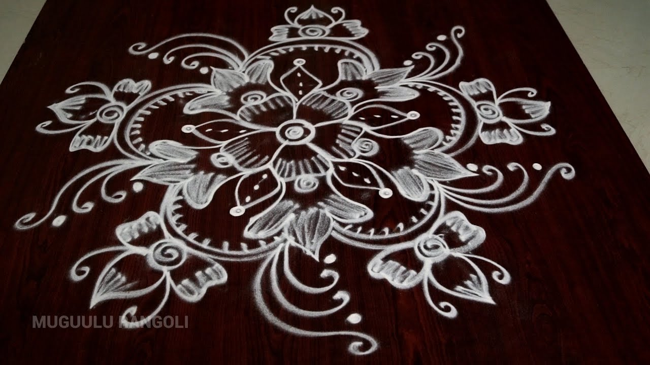 small and simple rangoli chukkala muggulu simple beautiful simple rangoli very simple rangoli #1