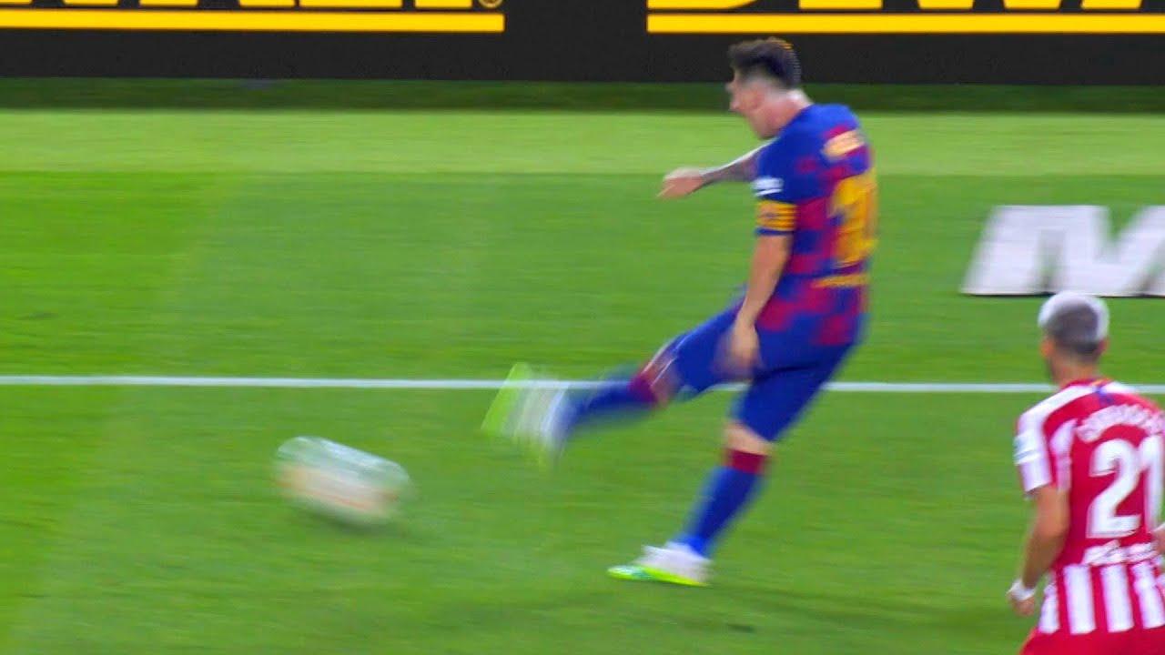 Lionel Messi lost control again