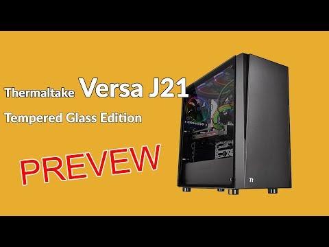 แกะกล่อง Thermaltake Versa J21 TG Edition เคสกระจกข้างใส ใส่ชุดน้ำได้ ราคาพันกว่าบาท