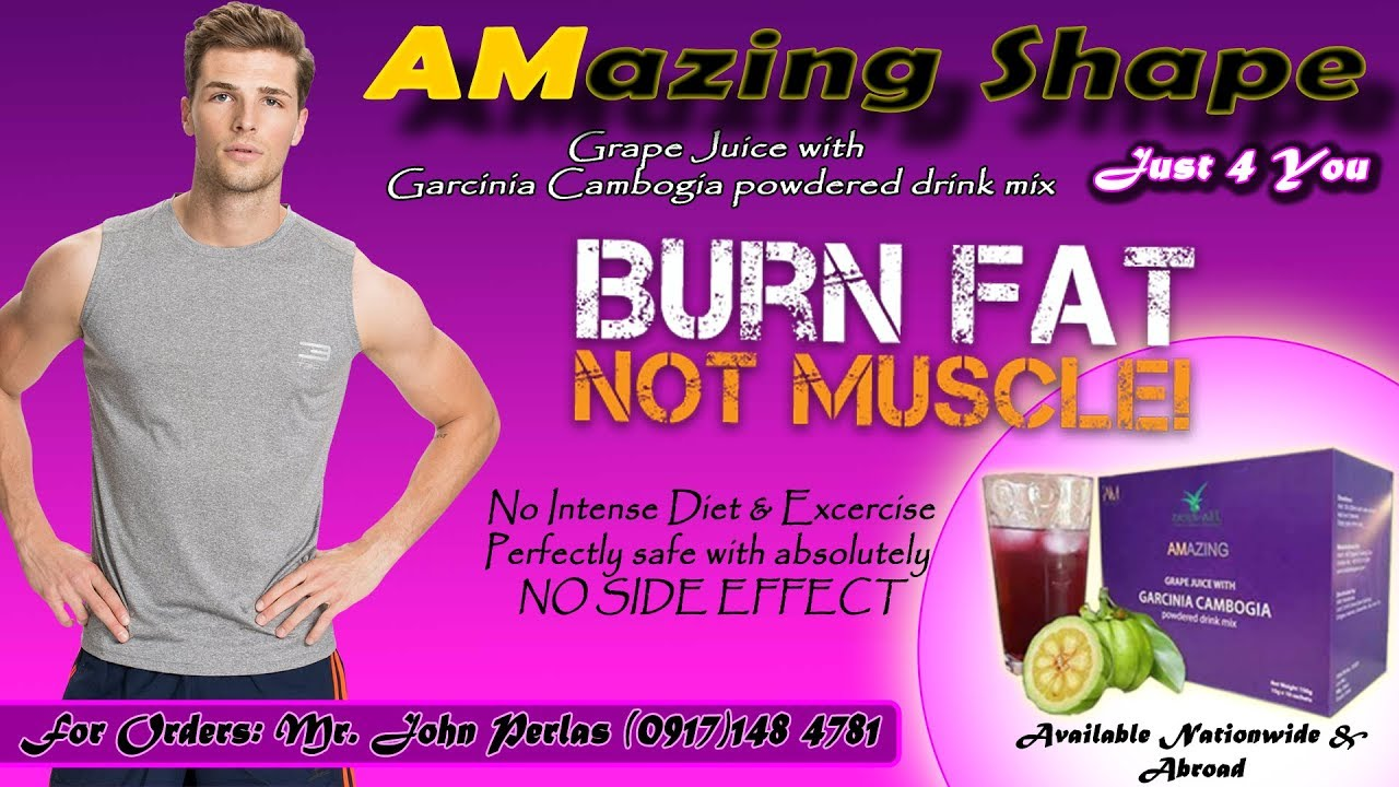 Amazing Grape Juice With Garcinia Cambogia Powdered Drink Mix