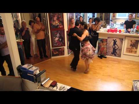 Dance party at Gabe's house: Argentine Tango (milonga style)