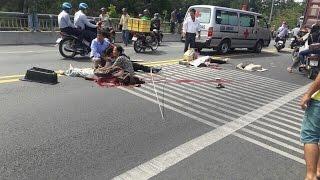 Tai nạn thảm khóc tại cầu Rạch Miễu, 14 người thương vong.