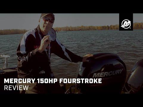 Mercury 150 FourStroke Review - YouTube