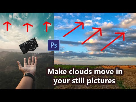 How To Create Moving Pictures In Photoshop Like Plotagraph / Animation Effect / Hindi