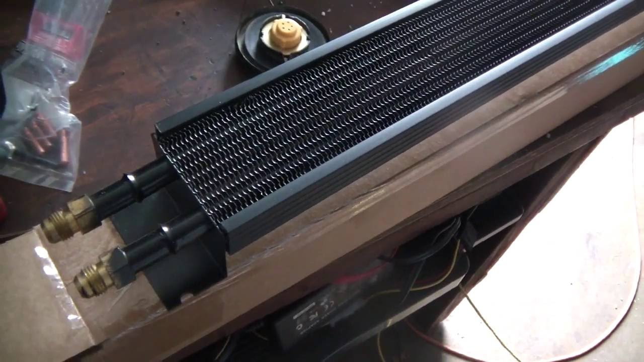 Early Bronco Transmission Cooler Install Upgrade - YouTube