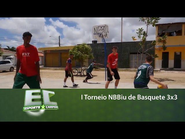 I Torneio NBBiu de Basquete 3x3