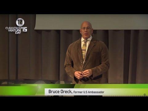 Cleantech Venture Day`15 - Bruce Oreck