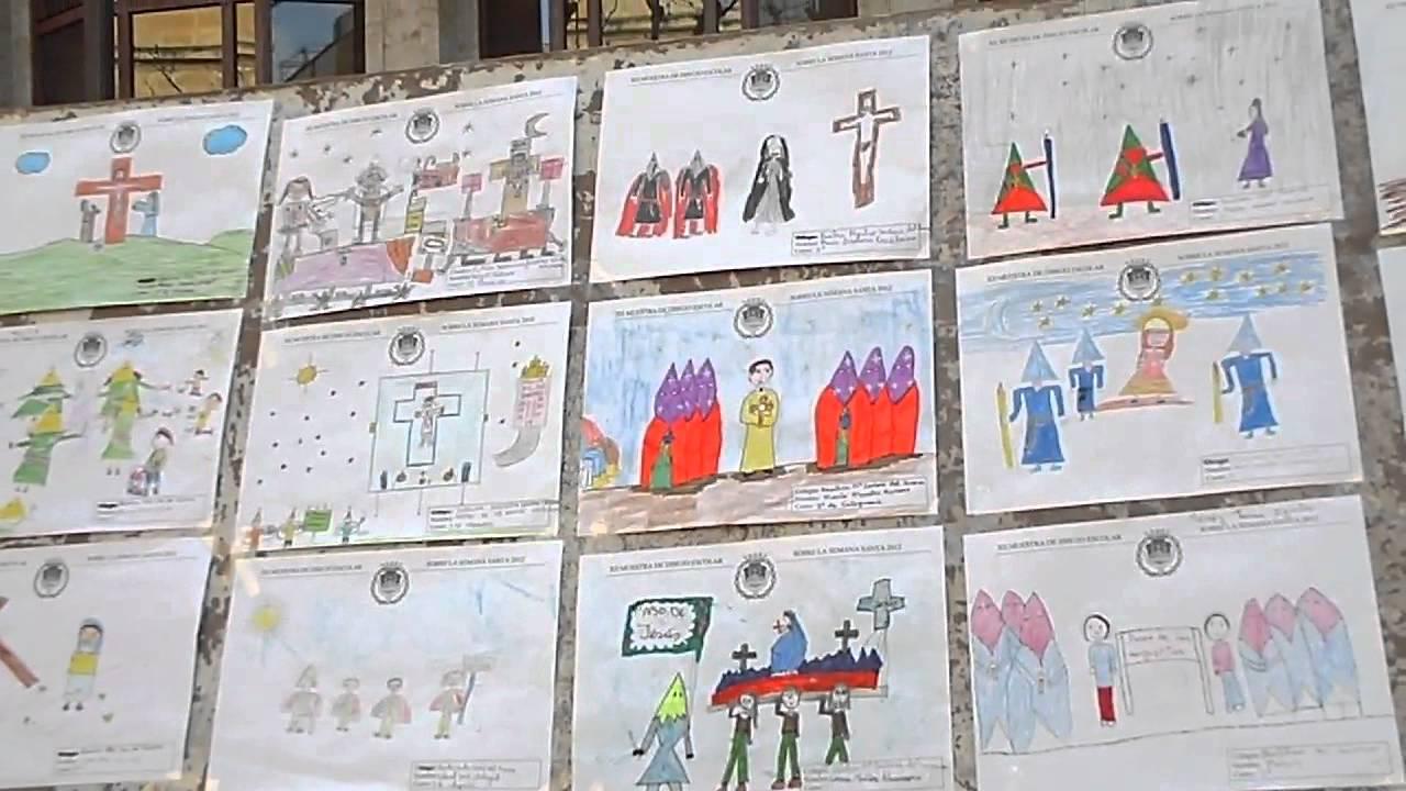 Dibujos Colorear Semana Santa Infantil: Dibujos Infantiles De Semana Santa De Aspe