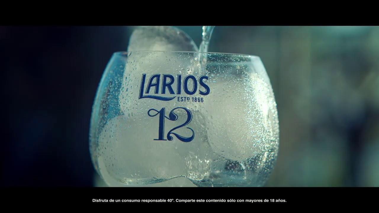 Larios 12, esencias cítricas Mediterráneas