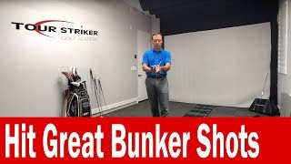 Increase Bounce and Loft to Hit Great Bunker Shots | Martin Chuck | Tour Striker Golf Academy