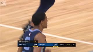 Kyle Anderson Full Play vs Detroit Pistons   01/24/20   Smart Highlights