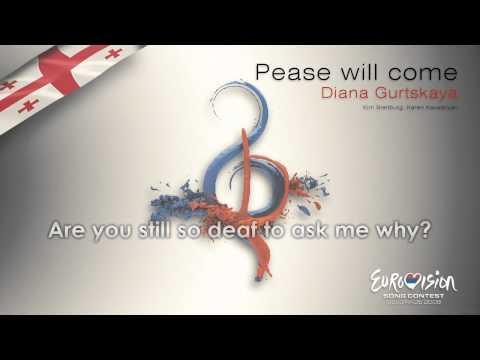 """Diana Gurtskaya - """"Peace Will Come"""" (Georgia)"""
