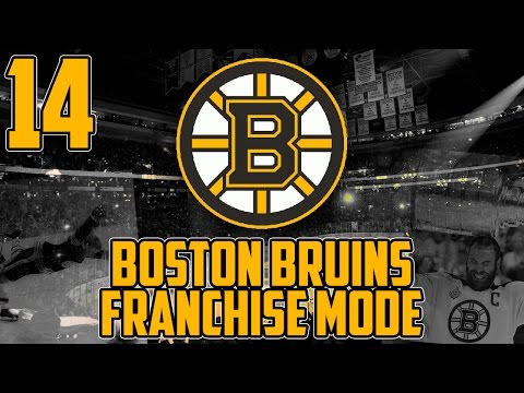 """NHL 17 - Boston Bruins Franchise Mode #14 """"The AI Isn't Smart"""""""