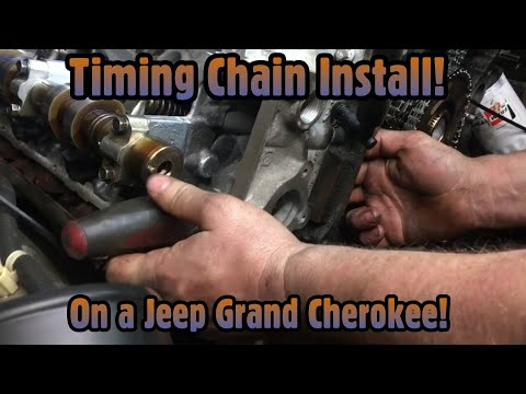 How to install timing chains on a jeep grand Cherokee 3.7 and 4.7/ same procedure dodge ram 1500