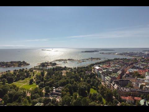 DJI Spark - 120m Altitude - Helsinki