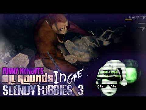 Slendytubbies 3 | Funny Moments | Survival Mode Round 1-10