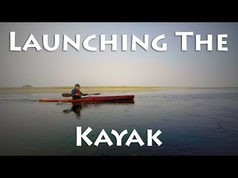 Launching the Completed Kayak - microBootlegger Sport - E68