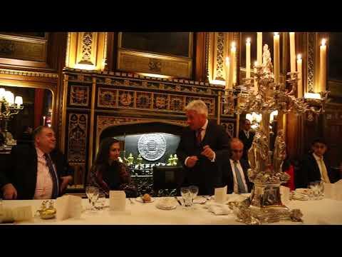 John Bercow, Honorable Speaker House Of Common (U.K) addressing at Speaker's democray award London