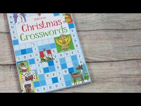 A Look Inside The Usborne Christmas Crosswords Book
