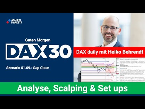 DAX aktuell: Analyse, Trading-Ideen & Scalping | DAX30 | CFD Trading | DAX Analyse | 01.09.2020