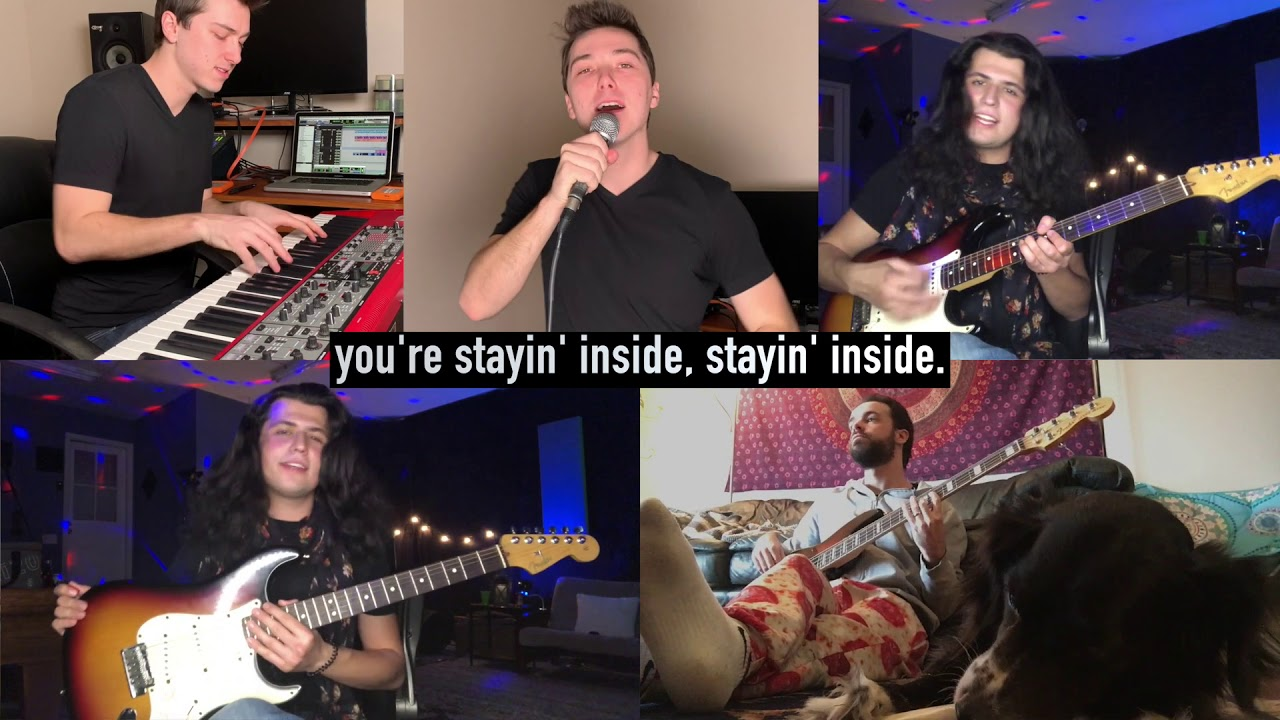 """Stayin' Inside"" – Coronavirus Bee Gees Parody"