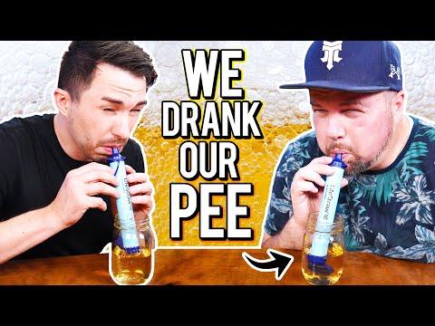 We Drank Our Own Pee - The LifeStraw Taste Test