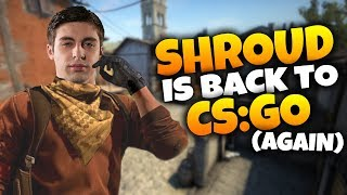 shroud plays csgo in 2019 twitch highlights