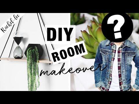 DIY Room Decor! For A GUY???