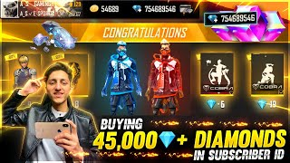 Buying 15,000 Diamond Dj Alok & New Emote From Top Up Event In Subscriber Id 😍 - Garena Free Fire