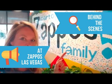 My First Impression Of Zappos In Las Vegas