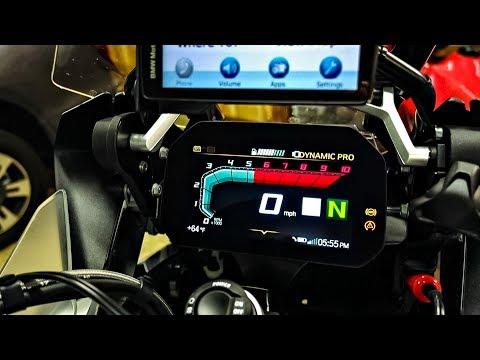 Exploring BMW TFT Dash!! • Keying Pannier Locks!   TheSmoaks Vlog_714