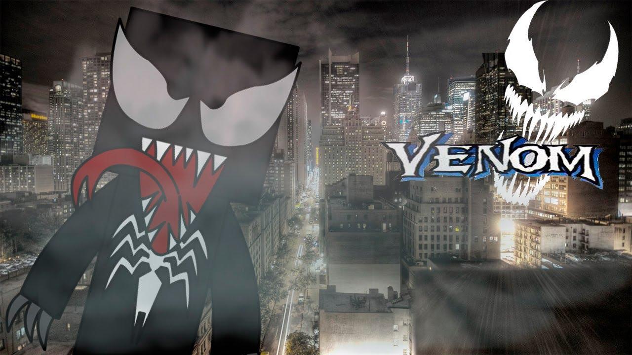 Minecraft SKINS Venom Spiderman YouTube - Skins guapos para minecraft pe