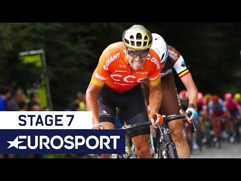 BinckBank Tour 2019 | Stage 7 Highlights | Cycling | Eurosport